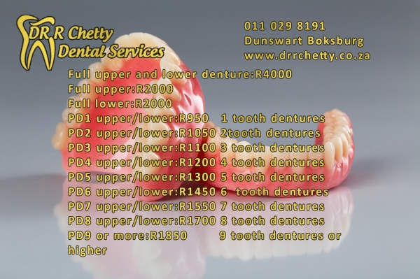 Denture pricing to fit your pocket